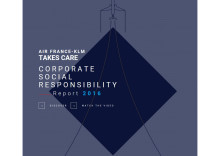 Air France-KLM's corporate social responsability report 2016