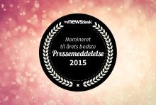 """Her er de nominerede til """"Årets Pressemeddelelse"""" 2015!"""