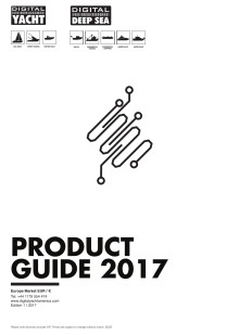 Digital Yacht 2017 EURO Price List and Product Guide