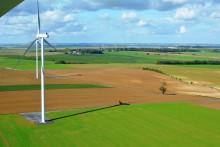 Inauguration du parc éolien de Vieille Carrière