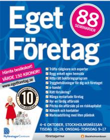 Imorgon inleds Sveriges i särklass största nyföretagarmässa
