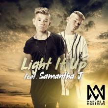 """Norska stjärnorna Marcus & Martinus släpper nya singeln """"Light It Up"""" idag"""