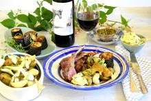 Recept på lamm till Åsnevinet -  sommarens röda grillvin!