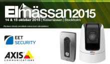 Välkommen att besöka oss på Elmässan 2015, Stockholm, 14-15 oktober, Monter: L:13