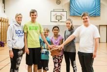 Basketlag för unga med autism laddar för sin första turnering någonsin