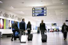 Fortsatt ökning av flygresenärer