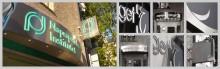 Naprapatiska institutet väljer Clarex igen för ny, Inifrån LEDbelyst fasadskyltning i rostfritt exklusivt utförande