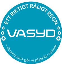 """VA SYD i Almedalen med """"Ett riktigt räligt regn"""""""