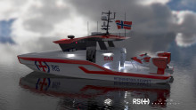 Rescue vessel donated as Nor-Shipping anniversary gift