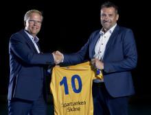 Sparbanken Skåne stödjer handbollens utveckling – nytt avtal med landslaget