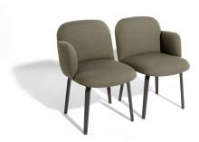 Kurven zum Verlieben: Unsere Stühle Bolbo und Fin