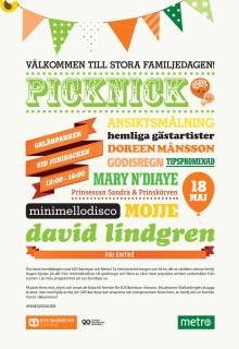 Annons för Picknick 1