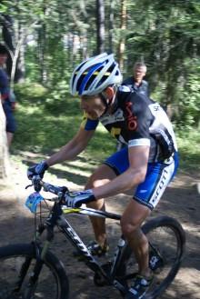 Nya veteranmästare i mountainbike