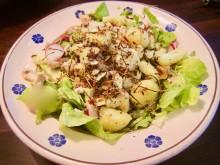 Månadens recept september - Sallad med stekt potatis, kyckling och avokado