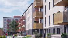 Riksbyggen och LOs nya fastighetsbolag gör bostadsaffär i Malmö