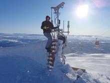 Ny mätutrustning ska motverka isbildning på vindkraftverk