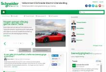 Schneider Electric bag ny dansk blog om bæredygtighed