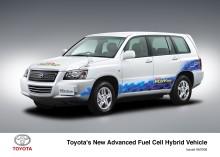 Toyota visar bränslecellshybrid i Sverige