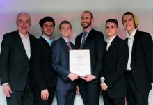 Chalmersstudenter fick pris för bästa entreprenörskap