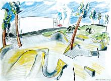 Skatepark byggs i centrala Gustavsberg