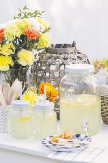 Oppskrift - forfriskende lemonade