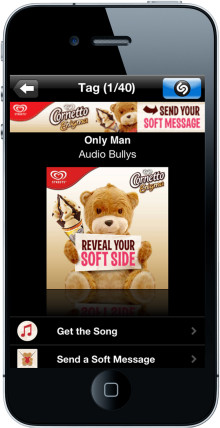 Shazam Launches New Shazam-Enabled Adverts in Australia with Cornetto and Pepsi