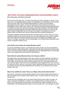 Interview mit dem Managementtrainer Boris Grundl