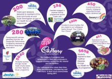 Cadbury Foundation 2017 infographic