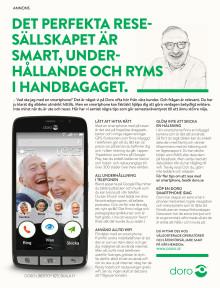 Doro drar igång smartphoneskola för seniorer