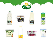 Arla brand records biggest growth among UK's biggest 100 grocery brands