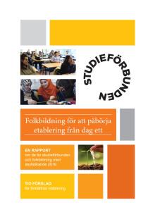 Rapport Etablering för asylsökande med studieförbunden