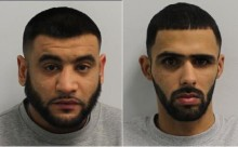 Two men sentenced for firearms offences