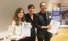 De vann Norconsultpriset för bästa artikel