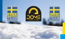 The Dome Adrenaline Zone ny partner till Freeski- och Snowboardlandslaget