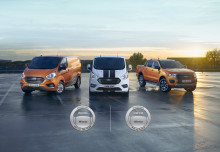 Ford vinner Årets Transportbil och Årets Pickup