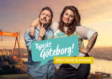 Kakan & David gör Göteborg i ny webbTV-serie