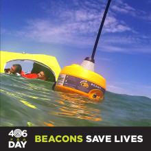 Marine Safety Specialists Join Forces to Raise Beacon Awareness on '406Day'