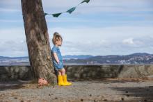 Riktig fottøy til barn som liker å leke ute uansett vær.