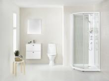 Smart dusjkabinett fra Porsgrund - enda enklere å montere