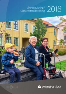 Skövdebostäders års- och hållbarhetsredovisning 2018