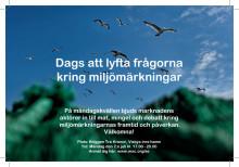 Dags att lyfta frågorna kring miljömärkningar! Inbjudan MSC i Almedalen 2 juli kl 17.00