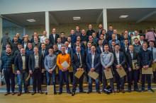 55 nye maskinmestre dimitterede fra MARTEC