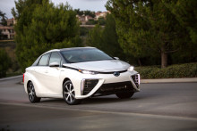 Exceptionell start för bränslecellsdrivna Toyota Mirai