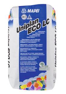 Uniplan ECO LC Självutjämnade & fiberarmerad avjämningsmassa.
