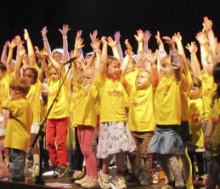 Konsertdags för 150 förskolebarn i Kristianstad