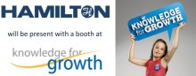Visit Hamilton Robotics at Knowledge for Growth 2014