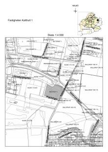 Karta fastigheten Katthult 1, Malmö