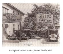 A Hertz Autókölcsönző 100 éves születésnapja előtt tisztelgett a Ford