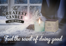 """The Greatest Candle"" nu i Sverige!"
