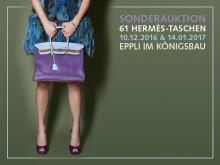 Auflösung einer Sammlung: 61 Hermès-Taschen bei Eppli